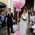 Effetto Speciale in Palloncini per Uscita Chiesa Nuziale...Euro......*