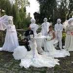 Mimi Statue Viventi per Sposi