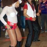 Ballerino Eloy per Animazione con Salsa Cubana per il Centro Commerciale Campania