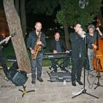 Jazz band per accoglienza sposi