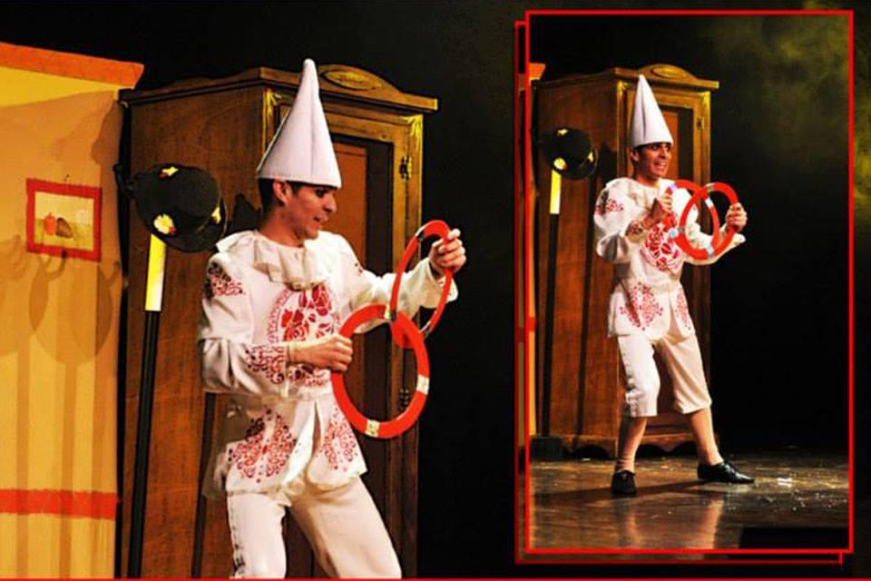 Show di Pinocchio Trasformista by I Giullari del 2000