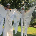 Trampolieri Eleganti per accoglienza cerimonie