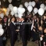 volo-palloncini-luminosi-per-festa-unione-civile