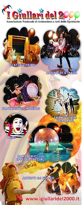 Artisti di Strada I Giullari del 2000