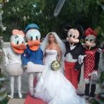 Accoglienza Cerimonie con Mascotte Disney per Sito