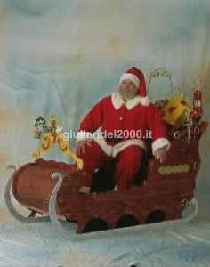 Attrazione La Slitta di Babbo Natale