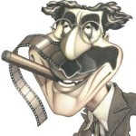 Caricatura Groucho Marx