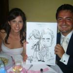 Caricatura a Sposi by A. B.
