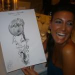 Caricatura di invitata by I Giullari del 2000