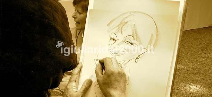 """Caricaturista Faletti"""