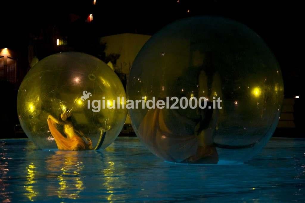 Show Speciale di Danzatrici Acrobatiche sull'Acqua by I Giullari del 2000