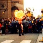 Giocolieri con Fuoco I Giullari del 2000