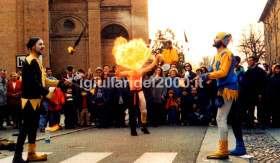 La Sfilata Spettacolo de' I Giullari del 2000
