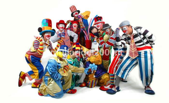 I Clowns by I Giullari del 2000