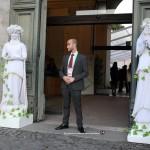 Le Statue Viventi by I Giullari per accoglienza evento a Villa Giulia