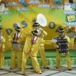 Mini Band Citta in Festa costume giallo
