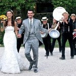 Mini Band Citta in Festa per Accoglienza Sposi