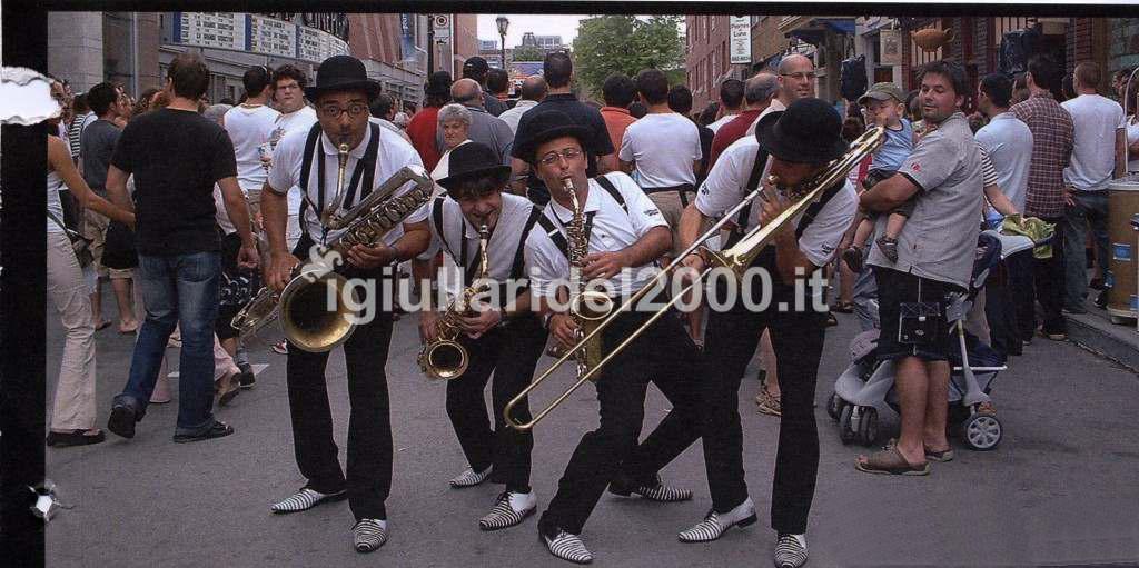 """Mini Band Musicisti Itineranti """"Città in Festa"""" by I Giullari del 2000"""