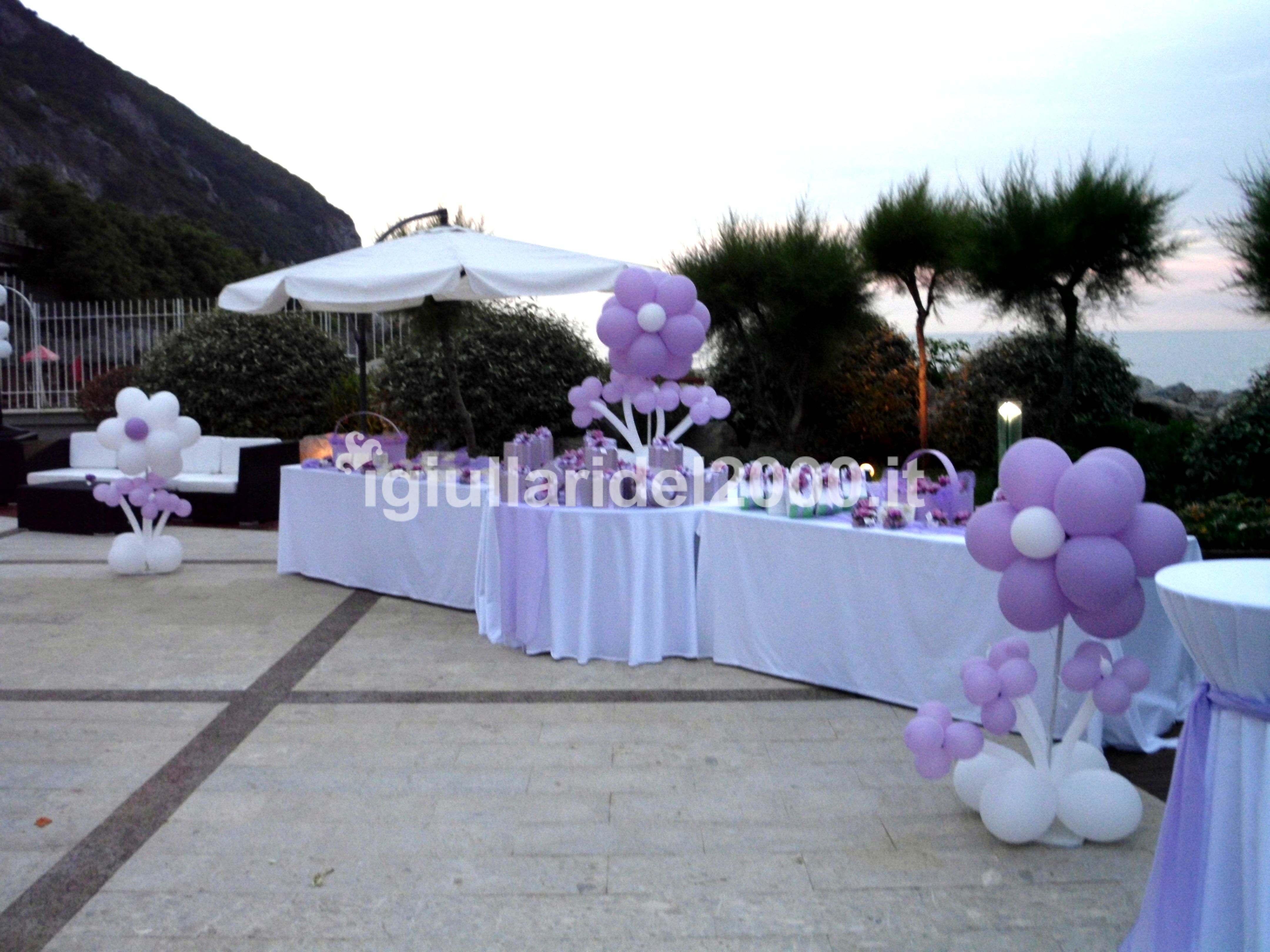 Addobbi con palloncini per matrimonio artisti di strada for Addobbi per feste