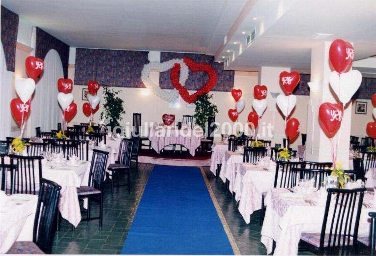 Addobbi con palloncini artisti di strada i giullari del 2000 - San valentino decorazioni ...