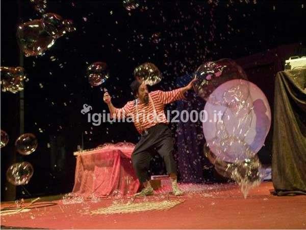 Bolle di Sapone Show by I Giullari del 2000