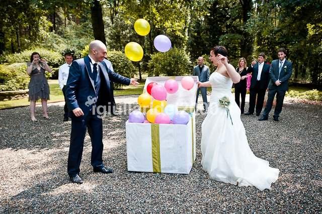 Famoso Addobbi con Palloncini per Matrimonio - Artisti di Strada I  QU46