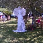 Statua Vivente Angelo (donna)