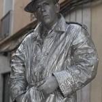 La Statua Vivente Argento