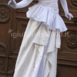 Statua Vivente Dama Bianca