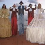 Trampolieri in Costumi La Corte in Festa