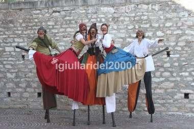 Trampolieri Medievali
