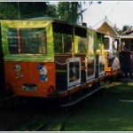 Il Trenino de' I Giullari del 2000