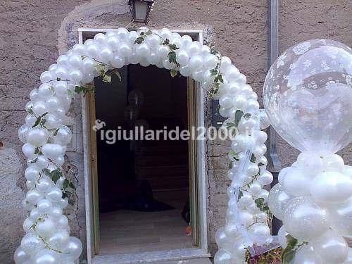 Addobbi con palloncini per matrimonio artisti di strada - Come addobbare la casa della sposa il giorno del matrimonio ...