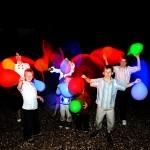 Volo Palloncini Luminosi a Prima Comunione