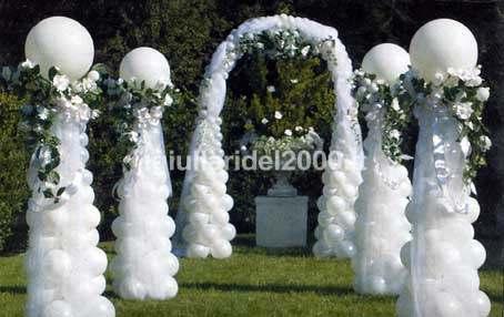 addobbo matrimonio palloncino