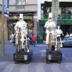 coppia Statue Viventi