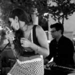 piano bar elegante locandina