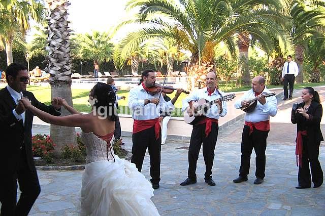 Posteggia d'accoglienza  per Matrimonio