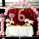 scenografia torta di compleanno bimba