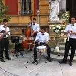 Elegant Swing Band per Accoglienza al Locale Nuziale