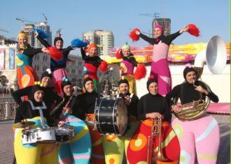 """Artisti di Strada """"Carnival Show"""" by I Giullari del 2000"""