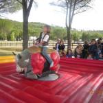 Attrazione Speciale Toro Meccanico per Festa di Comunione