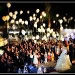 Volo Palloncini Luminosi a Led per saluto agli sposi