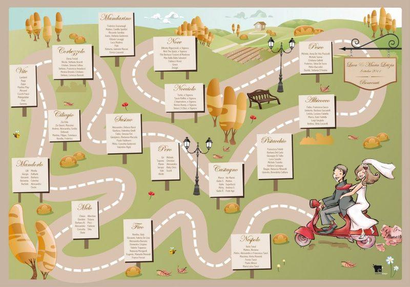 Favoloso Caricaturista per Matrimonio - Artisti di Strada I Giullari del 2000 UX06