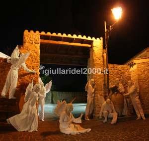 Statue Viventi Angeli per Locale Nuziale