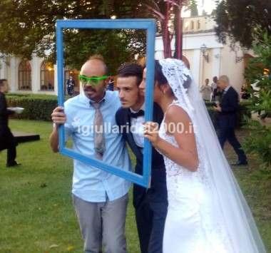 Matrimonio del Calciatore Alessandro Florenzi con I Giullari del 2000