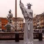 artisti di strada Roma