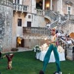 Giocolieri Acrobati La Corte in Festa per accoglienza Sposi