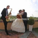 Musicista Sax Elegante per Accoglienza Sposi